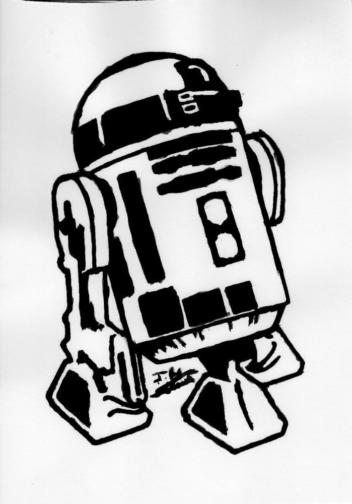 R2-D2 par Fantomas